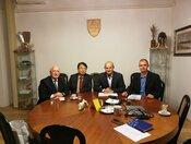 Pracovné stretnutie s profesorom Joo Ho Lee a Ing. Antonom Uhnákom