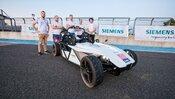 SjF STUv spolupráci so spoločnosťouSiemens vyvíja autonómne vozidlo