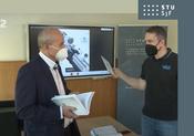 Virtuálna učebnica na SjF STU v Bratislave v relácii VAT na RTVS