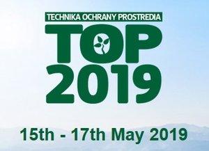 25. ročník medzinárodnej konferencie Technika ochrany prostredia TOP 2019