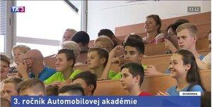 Budúcich mechanikov privítal 3. ročník Automobilovej junior akadémie