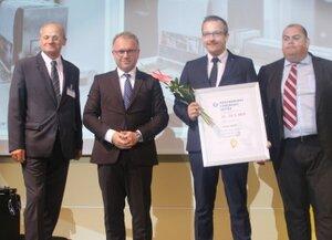 Čestné uznanie Medzinárodného strojárskeho veľtrhu 2019