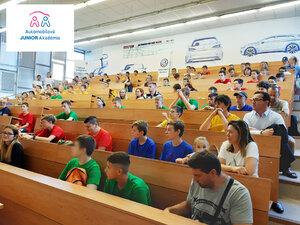 Automobilová JUNIOR Akadémia privítala v tomto roku až 80 žiakov