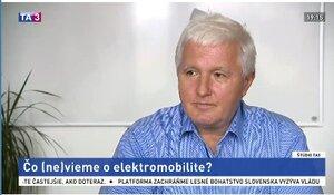 ŠTÚDIO TA3: Ľ. Magdolen o elektromobilite