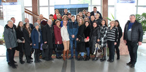 Návšteva pedagógov z Ukrajiny na SjF STU v Bratislave