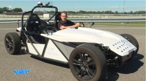 Autonómne vozidlo Strojníckej fakulty STU v reportáži Gregora Mareša